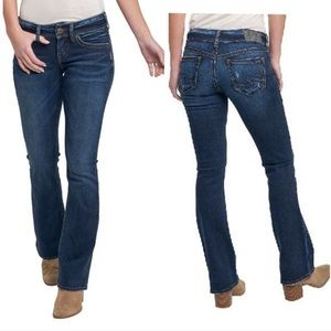 Silver Jeans / Suki Mid Baby Boot Jeans W31xL33